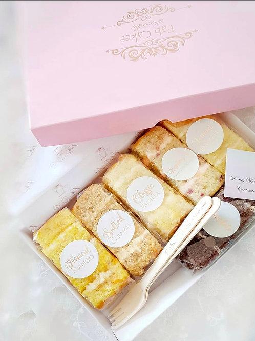 Signature cake sample box