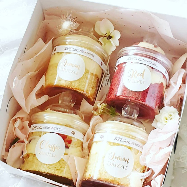 Cake Jars treat box