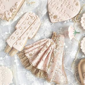 Wedding treat box cookies