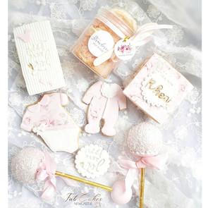 Baby girl treat box