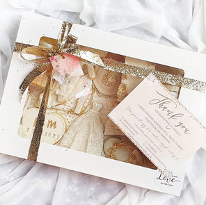 Wedding treat box