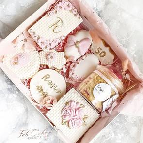 Flower themed treat box