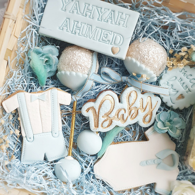 Baby Boy treat box