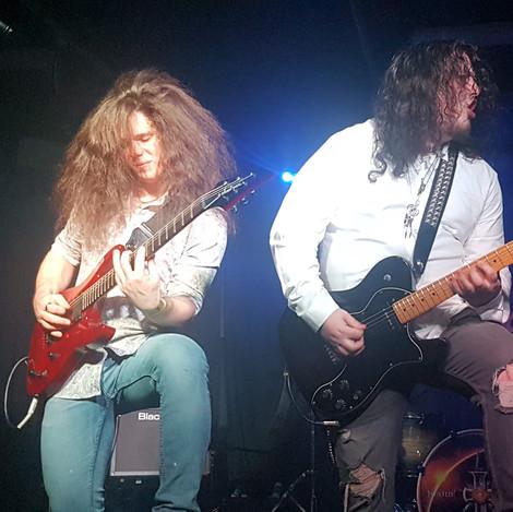 Matt and Saxon