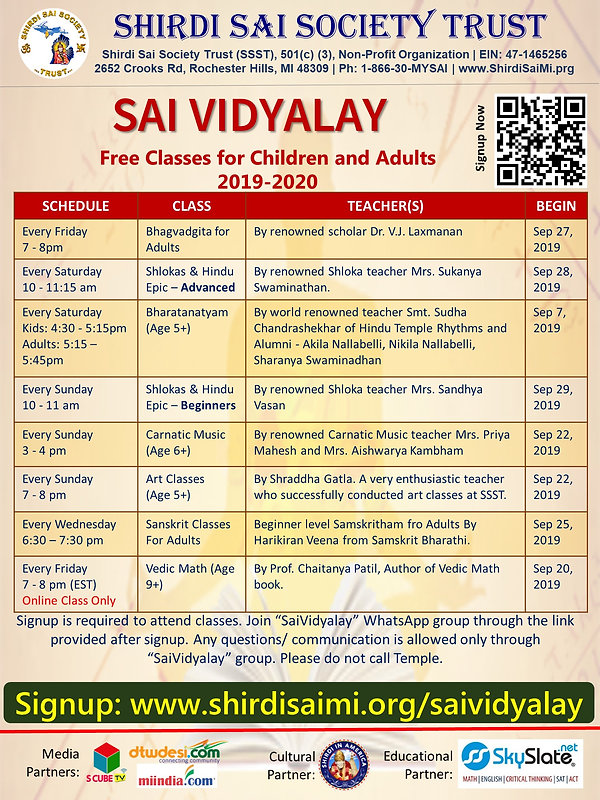 Saividyalay | skyslateSai Kiran Vedic Maths
