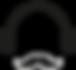 Auriculares y bigote