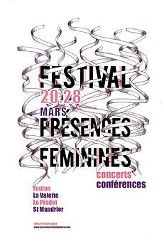 affiches presences feminines avce textes