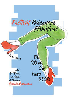 Moura_lyloo affiche Festival Presences F