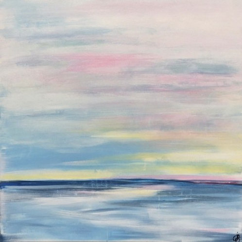 Eventide | Abstract Painting For Sale By Julie Gudger