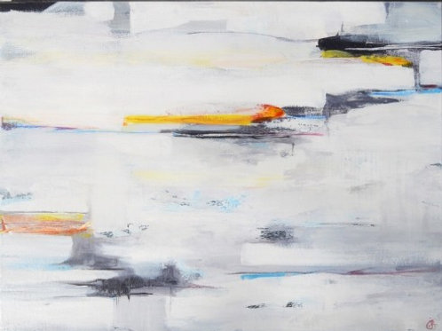 Underneath | Abstract Painting For Sale By Julie Gudger