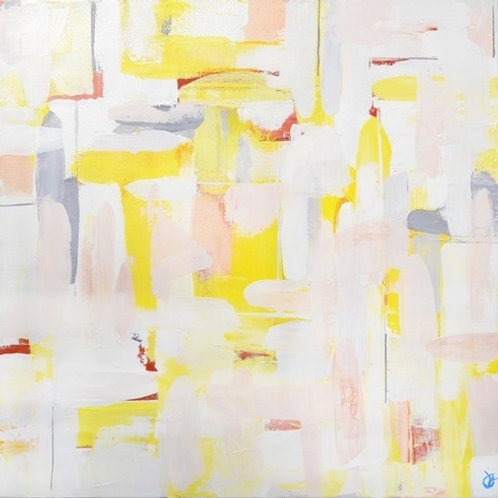 Glimmer Of Hope | Abstract Painting For Sale By Julie Gudger
