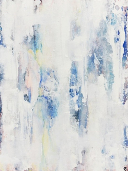 Purify | Abstract Painting For Sale By Julie Gudger
