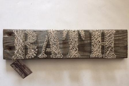 Bath String Art