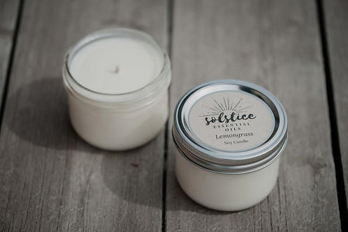 Candle with Essential Oils