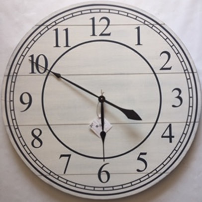 Large Farmhouse Clock