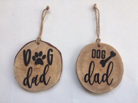 Dog Dad Ornament