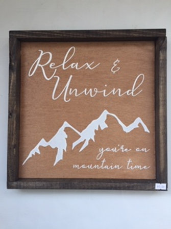 Relax and Unwind