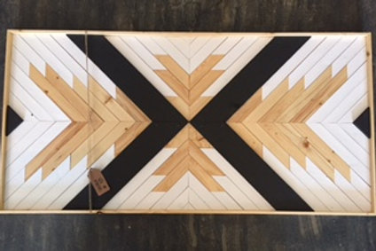 Wood Art - Swan