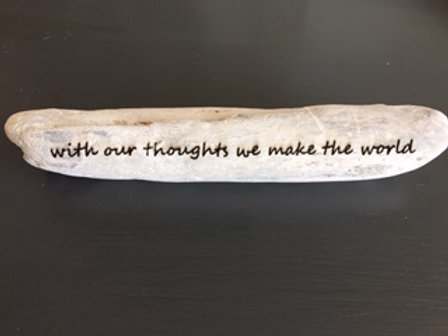 With our thoughts we make the world - Medium
