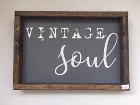 Vintage Soul Sign