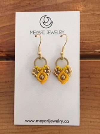 Gold & Yellow Earrings