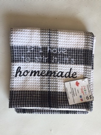 If I have to stir it, it is homemade tea towel