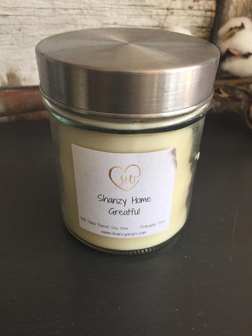 Greatful Candle -Cinnamon