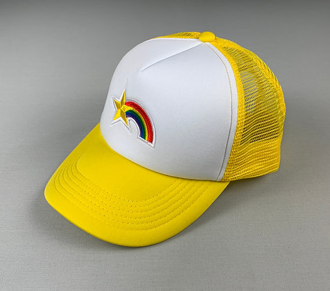 "THXMATE ""Sternschnuppe"" Snapback Cap Gelb"