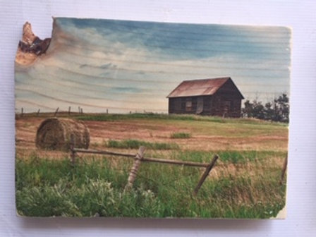 Wood Photo Transfer