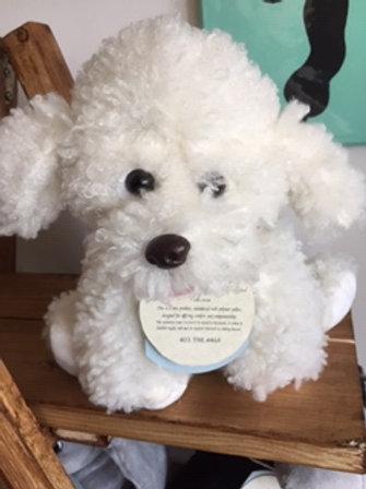 Heavy Helper - Small White Dog
