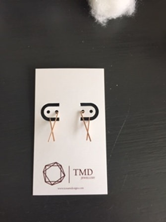 Rose Gold Filled Earrings
