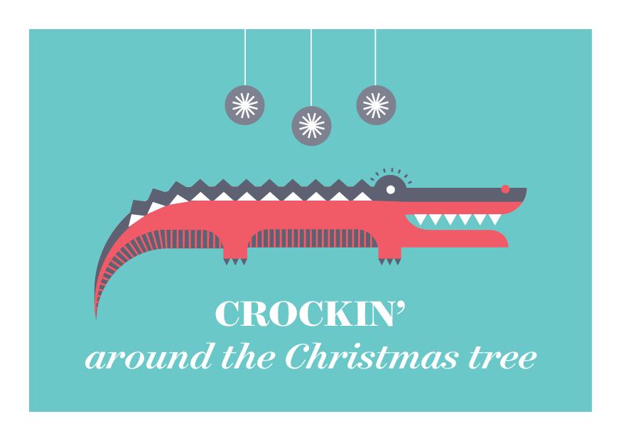 12 Days of Puns - Crocodile