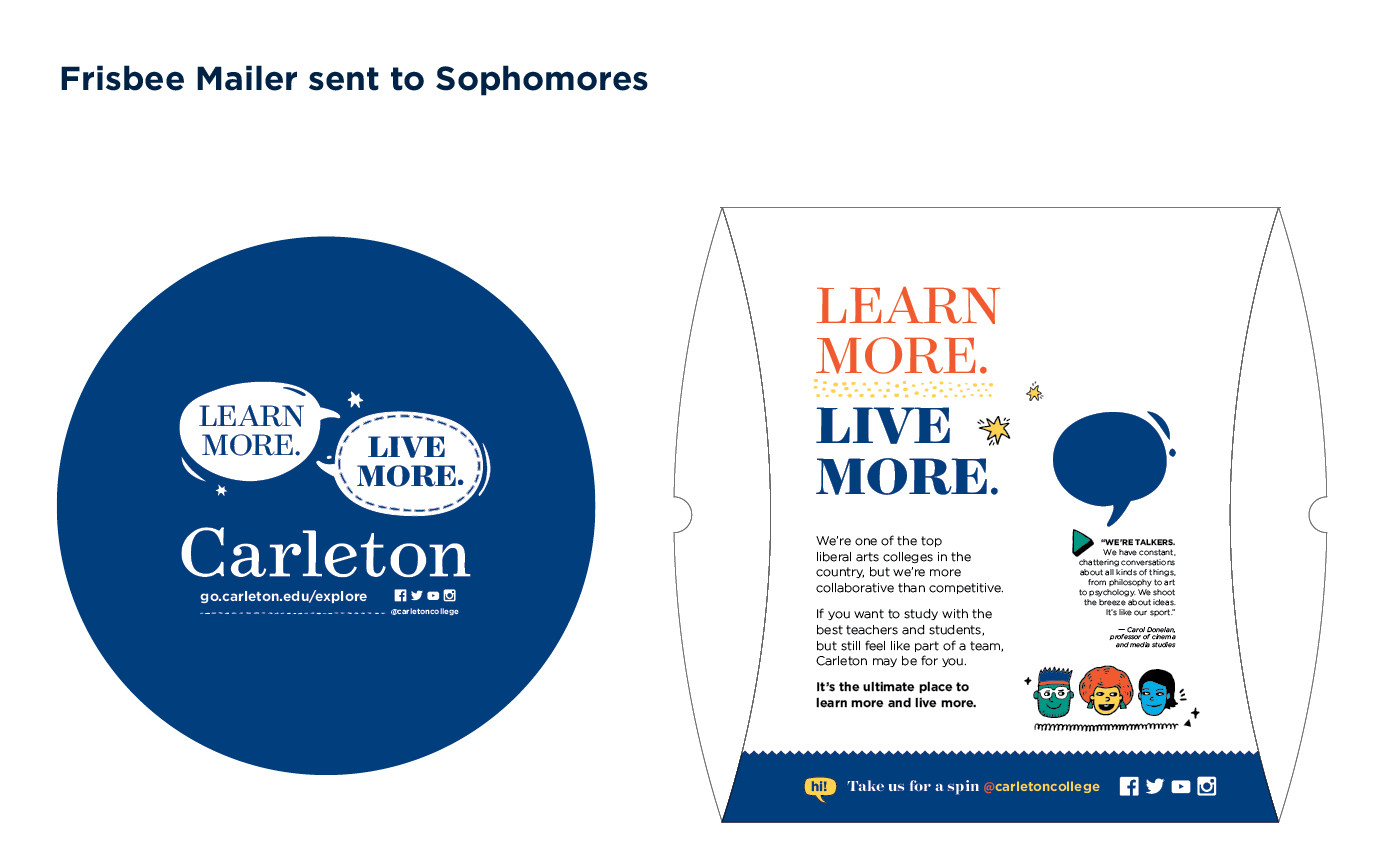 Carleton College Frisbee