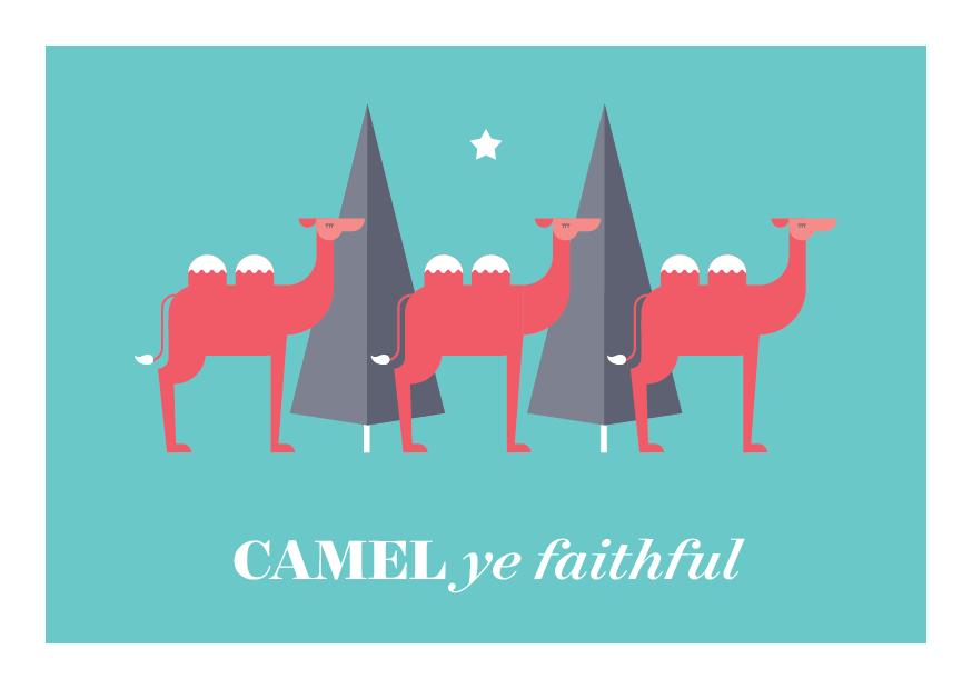 12 Days of Puns - Camel