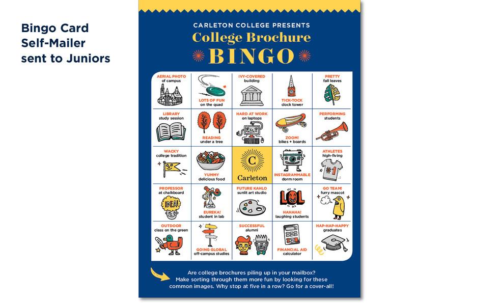 Carleton College Bingo
