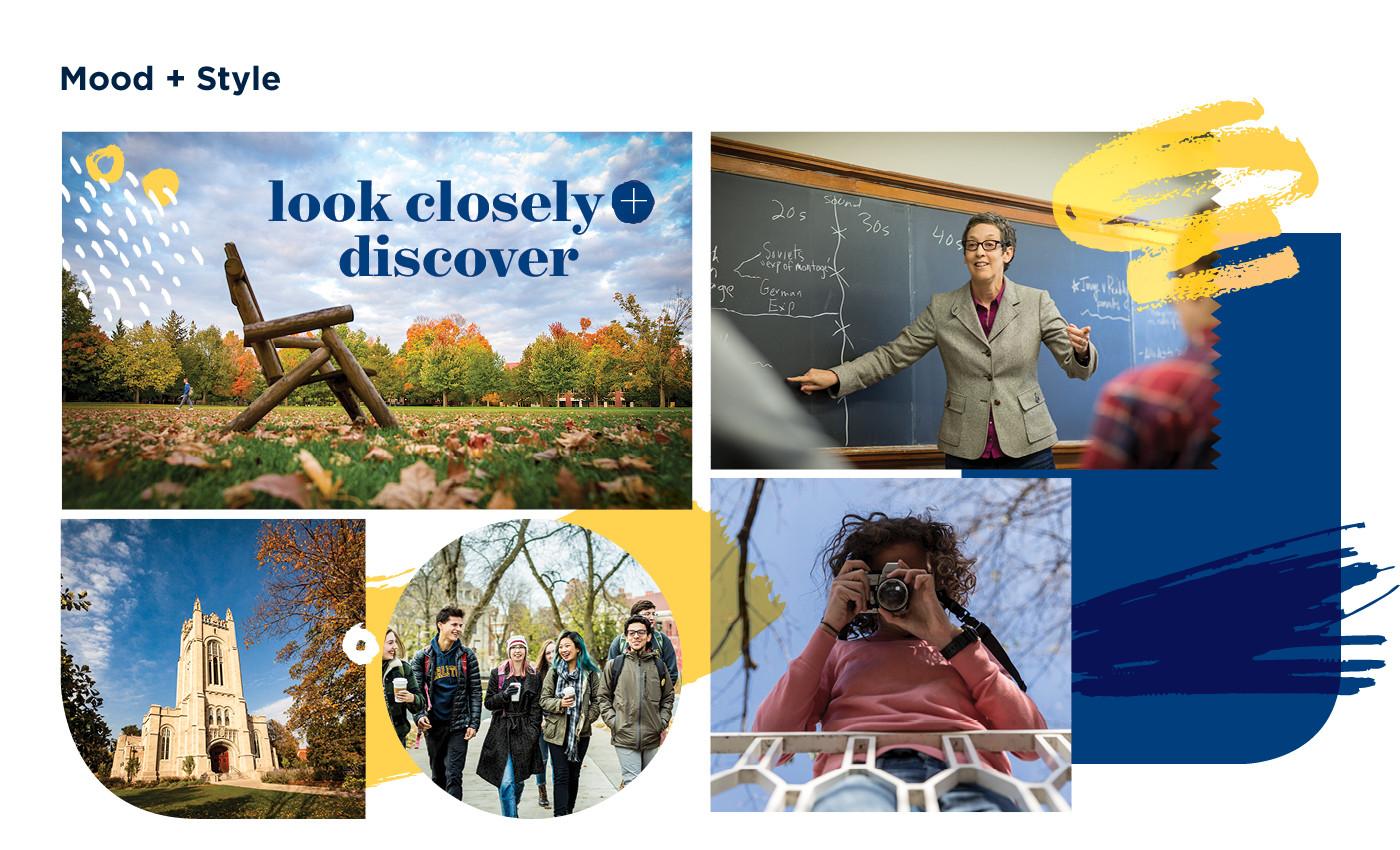 Carleton College Admissions Branding