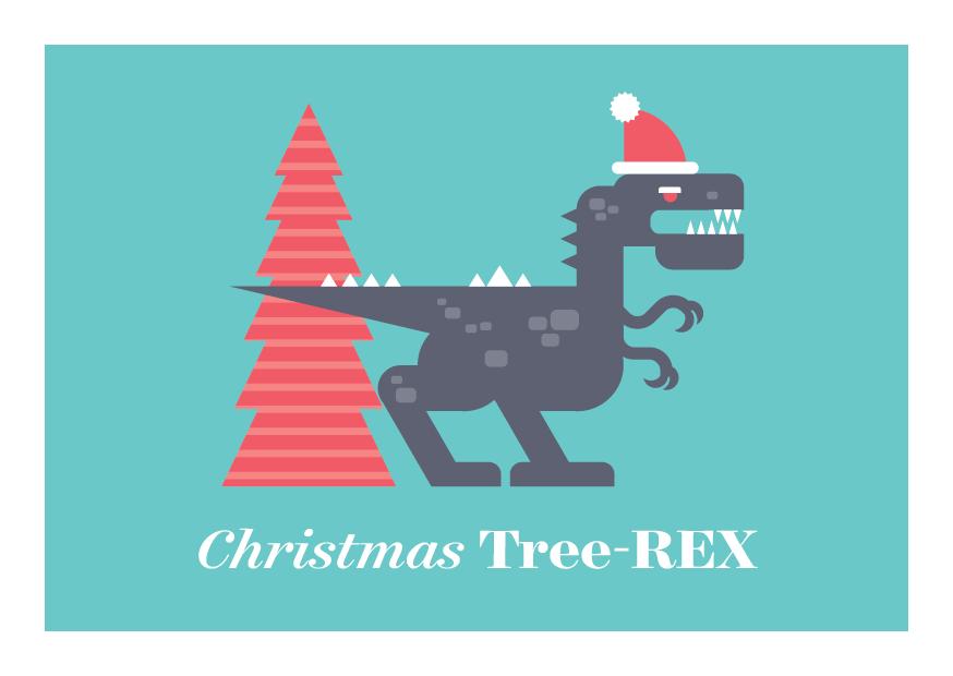12 Days of Puns - T-Rex  Dinosaur