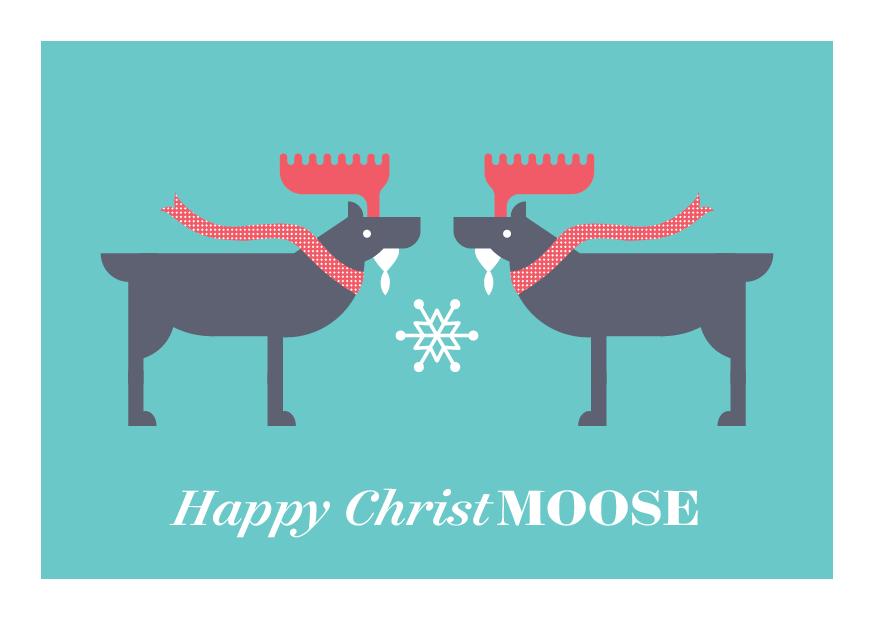 12 Days of Puns - Moose