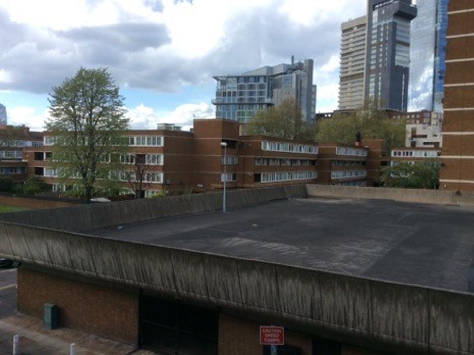 The Kipling Estate roof