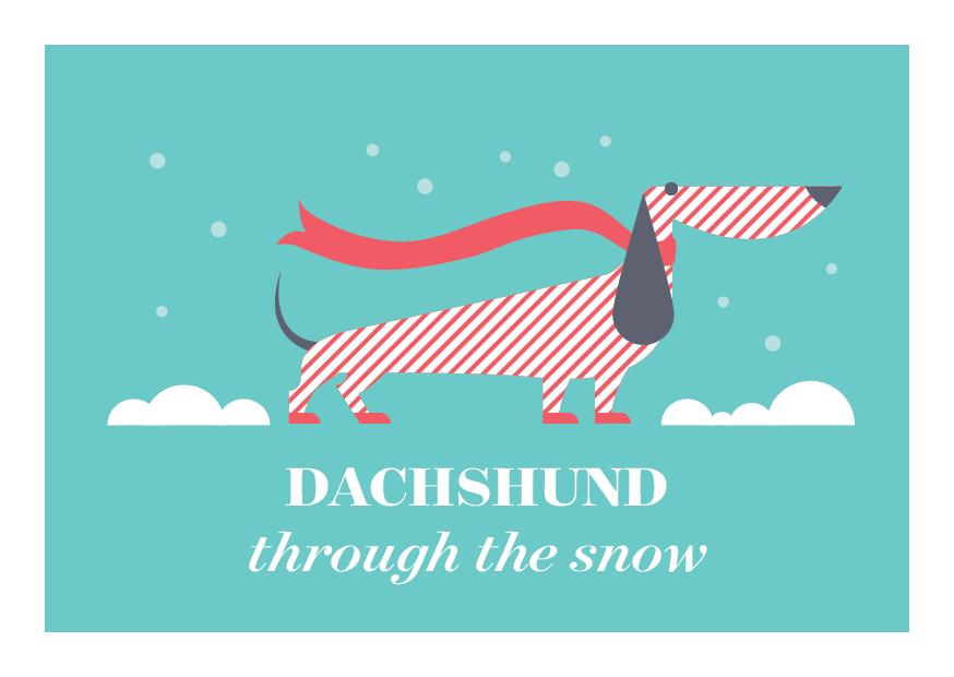 12 Days of Puns - Dachshund Dog