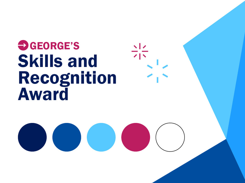 George's Skills and Recognition Award