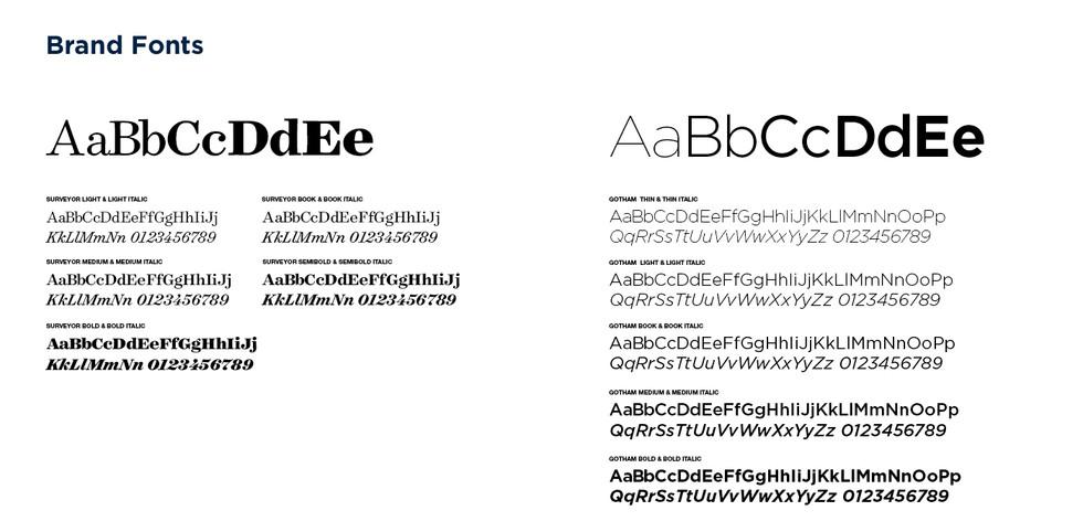Carleton Typography