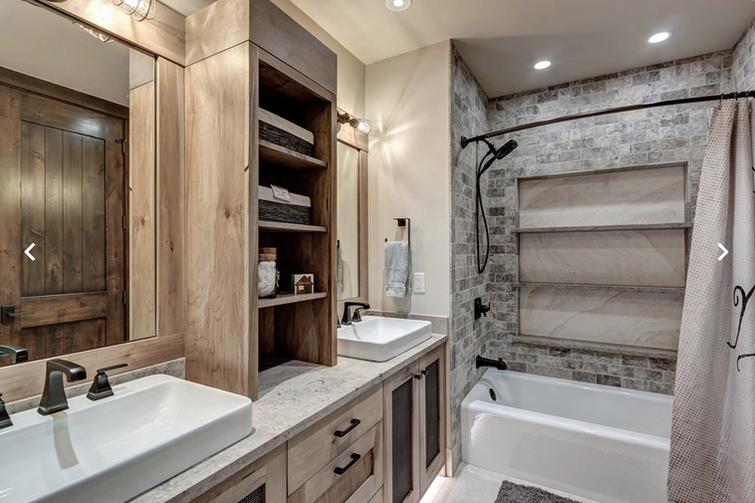 Mountain Bathroom - Breckenridge, CO