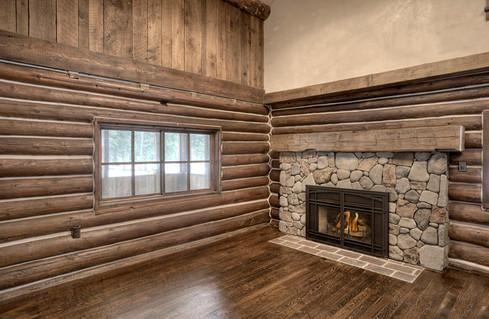 Mountain Scrape Second Fireplace