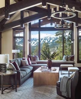 Mountain Contemporary Living Room
