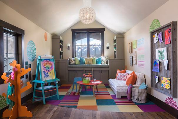 Colorful Playroom - Breckenridge, CO