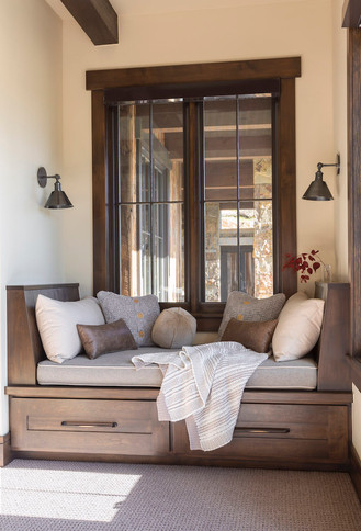 Mountain Contemporary Window Seat