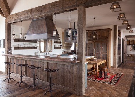 Mountain Farmhouse Kitchen - Louisville, CO