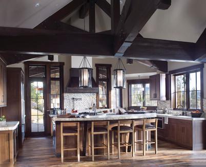 Mountain Contemporary Kitchen