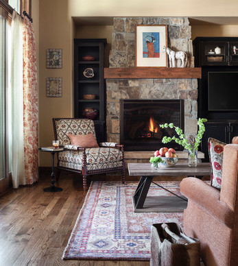 Vintage & Ethnic Living Room - Tinmath, CO